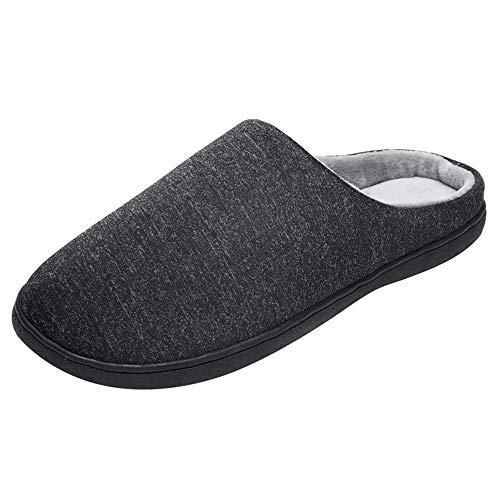 Warme Hausschuhe aus Baumwolle Unisex, Zolimx Damen Herren Comfort Exquisite Indooor Hausschuhe Haus Drinnen Rutschfeste Schlafzimmer Schuhe -