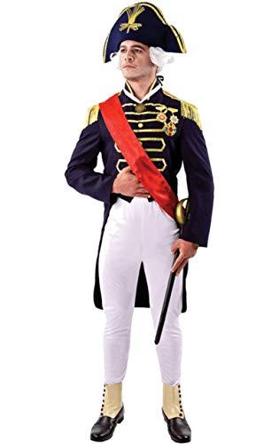 ORION COSTUMES Lord Nelson Herrenkost�m Karneval (Für Erwachsene Napoleon Kostüm)