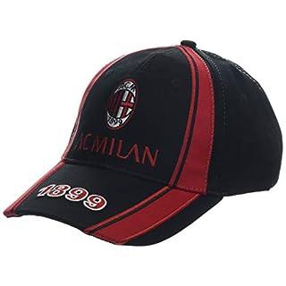 3R SPORT S.R.L. Baseballkappe für Herren Milan mit Visier A.C.Milan PS 09790