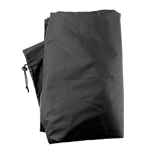 Zhankun Wasserbeständige Sunlounger Abdeckung Sun Lounge Chair Abdeckung Terrasse Outdoor Chaise Cover Möbel Staubschutz - Schwarz