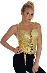 Blonde Ambition Top - Adult Fancy Dress Costume - Large