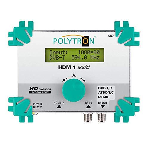Polytron HDM 1 Multi HDMI-Modulator in DVB-C oder DVB-T Encorder QAM/Cofdm HDCP