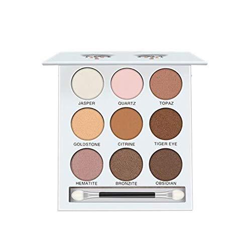 9 Farben-Perlen-Licht-Augen-Schatten-Disc Durable Lidschatten Kosmetik Make-Up Werkzeug Multi-Funktions-Lidschatten-Palette Beweglicher Kosmetisches Werkzeug 1Set 1 Typ - Eye Palette Definieren