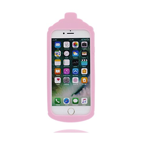 3D gatto | iPhone 6S Custodia, Gomma morbida del silicone case cover Gocce dassorbimento di scossa Defend Anti Scratch protettivo Copertura per iPhone 6/6s 4.7 Color 1