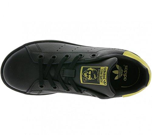Adidas Stan Smith, Sneaker Basses Mixte Enfant Noir ((Negbas/Negbas/Dormet))