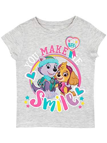 Paw patrol maglietta a maniche corta per ragazze skye e everest 18-24 mesi