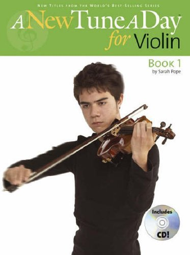 A New Tune A Day for Violin (Book 1) by Pope,Sarah (September 1, 2005) Paperback