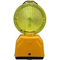 Pal Ferretería Industrial Baliza de señalización/lampara de Destellos. No Incluye baterias
