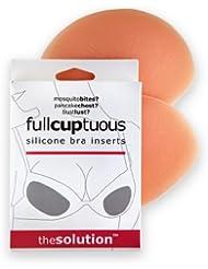 fullcuptuous: Silicona Inserciones De Sujetador–Tamaño de Una taza Up, 1par