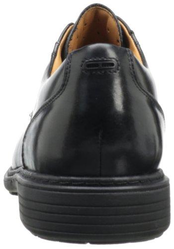 Clarks Un Rage Oxford Black Leather