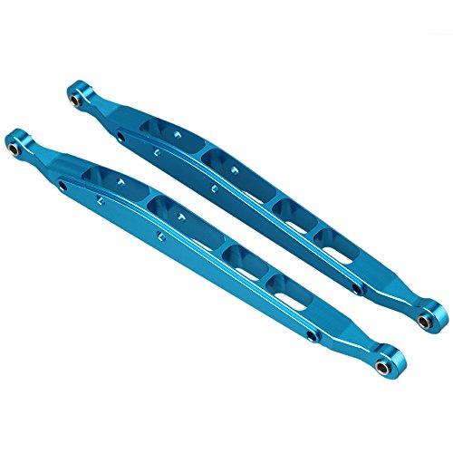 BQLZR Blau AX31008 Aluminium Rear Lower Chassis Linkage Link-Tuningteile f¨¹r RC 1:10 AXIAL YETI ROCK RACER 90026 Racing Climbing Rock Crawler Packung mit 2