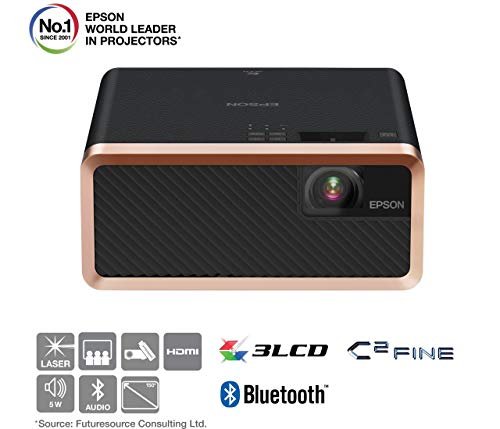Epson EF-100B 3LCD, Laser, Streaming Device, Bluetooth, Built In 5 W Speaker,...