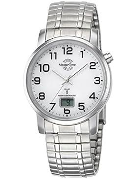 Master Time Funk Basic Series Herrenuhr MTGA-10306-12M mit Zugband, Edelstahl-Zugband Armbanduhr