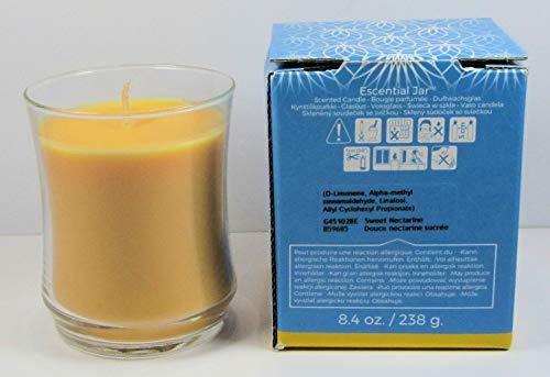Unbekannt PartyLite Duftwachsglas Escential Jar Süße Nektarine aus der Serie Fruchtig
