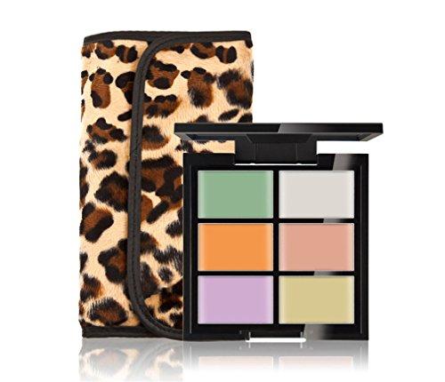 FantasyDay® 6 Couleurs de Maquillage Crème Correcteur Contour Palette Fond de Teint Cosmétique Anti-cernes Mettez en Surbrillance Camouflage Palette + 12PC Pinceaux de Maquillage #1