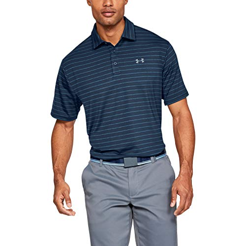 Under Armour Herren Playoff-2.0 Poloshirt, Academy (409), XL