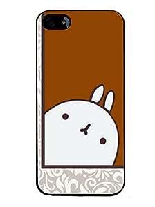 Fuson 2D Printed Cartoon Designer back case cover for Apple iPhone 4 - D4302