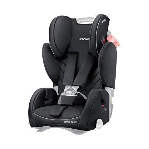 Ersatzbezug Recaro Young Sport 9-36Kg Farbe Performance Black Nur Bezug Ohne Sitz