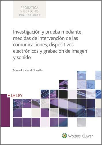 Investigación y prueba mediante medidas de intervención de las ...