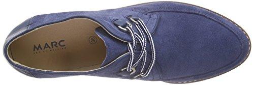 Marc Shoes Damen Romy Derby Blau (blue 770)