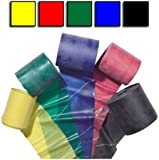 Theraband - 5 Pack [Yellow-Red-Green-Blue-Black]
