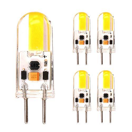 12v Ac Motion Sensor (RZL LED Lights, Led-dimmbare Glühbirne - COB 3 Watt GY6.35-Bi-Pin-Lampe (12 V AC/DC) Niederspannung (20 Watt-Äquivalent) (Farbe : Warmweiß))