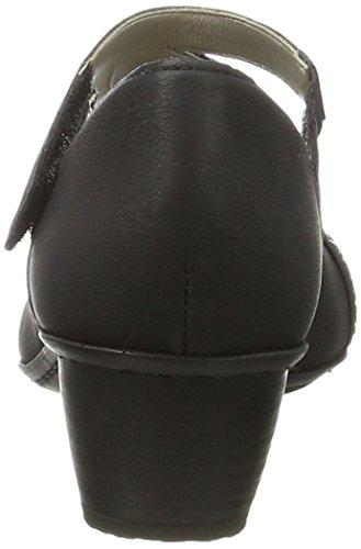 Rieker 47691, Scarpe con Tacco Donna Nero (nero/black / 00)