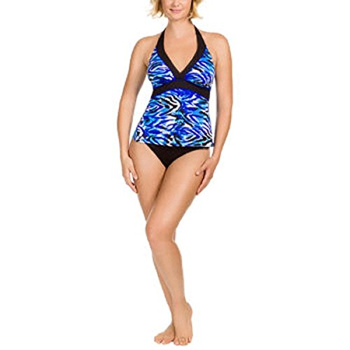 KIRKLAND MIRACLESUIT SWIMSUIT RUCHED WRAP LOOK TUMMY BUST CONTROL SIZE 12 NEW