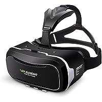 Casque VR, ELEGIANT Lunettes Réalité Virtuelle Headphone Headset 3D avec l'écran 4.0-6.0 pouces Compatibles avec iPhone 8 7 6 Samsung Galaxy S8 S7 S6 Smartphones Android Iphone pour Films Jeux Vidéos