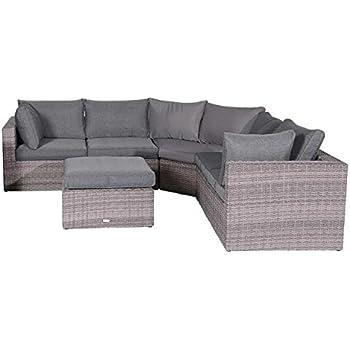 Amazon.de: OUTLIV. Madeira XL Lounge 4-tlg Organic Grey ...