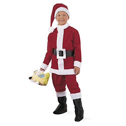 Imagen de limit sport  disfraz de papá noel para niño mi170