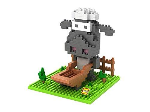 Loz-9475-Kit-de-construccion-miniaturizada-Oveja-Shaun-250-piezas