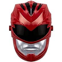 Máscara de Power Ranger rojo con efectos de sonido, 42525, de la película Power Rangers