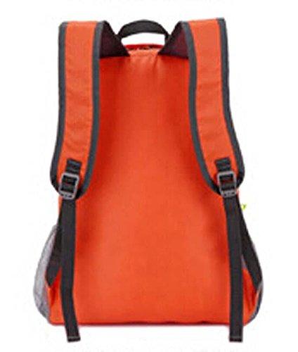 cf2ba360e3 ... Viaggio all'aperto pelle confezioni uomo impermeabile zaino borsa  pieghevole ultraleggera e le donne ricevono ...