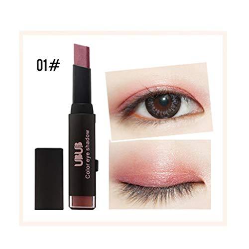 Missoul Gradient Dual Color Eye Shadow Stick Shimmer Palette Eye Cream Pen Portable (A 1)