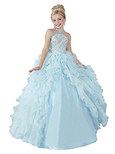 Dresses Onlie Mädchen Prinzessin Blumenmädchenkleider Hochzeit Festzug Kleid Kinderkleid...