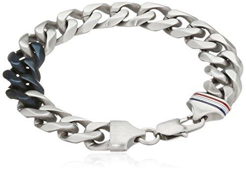 Imagen de tommy hilfiger venden herren pulsera de acero inoxidable para hombre casual 21 cm  2700681