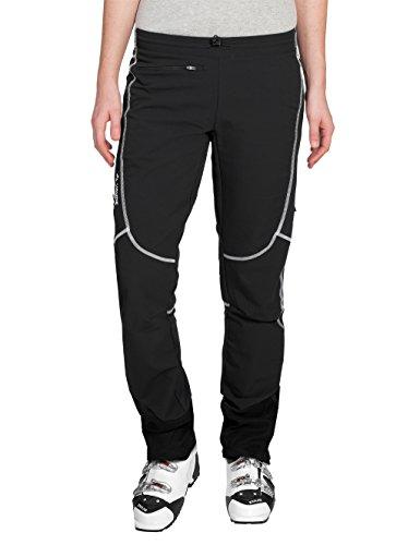 VAUDE Damen Hose Larice Light Pants, schwarz (black), 40, 05712
