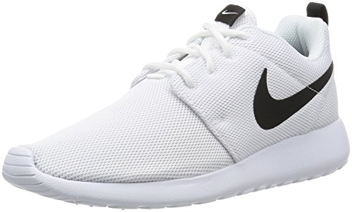 Nike Roshe Two, Zapatillas de Running para Niñas, Blanco White-Black, 37 1/2 EU