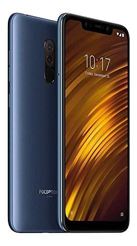Xiaomi Pocophone F1 15,7 cm (6.18') 6 GB 64 GB Ranura híbrida Dual SIM 4G Azul 4000 mAh - Smartphone (15,7 cm (6.18'), 6 GB, 64 GB, 12 MP, Android 8.1, Azul)