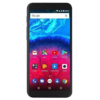 Archos 503659 15,2 cm (6 Zoll) Core 60s Smartphone (13+2MP Hauptkamera, 5MP Frontkamera, 16GB Speicher, 2GB RAM, LTE, Fingerprint, Android 7.0) Dunkelblau