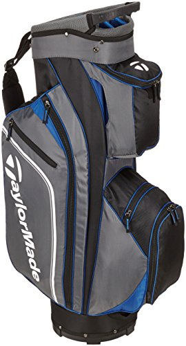 Taylormade Men's Pro Cart 4.0 Golf Club Bags, Black/Grey/Blue, One Size