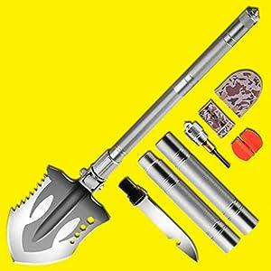 Cz-shovels Ingenieur Schaufel Multi-Funktions-Eisen Schaufel Mangan Stahl Schaufel Schaufel Auto Selbstverteidigung Schaufel Angeln Abenteuer kampierende Schaufel