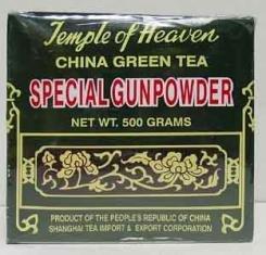 Thé Vert de Chine Gunpowder spécial (Temple du Ciel) 125 g (4,41 oz)