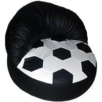 Fussball Relaxsessel weiß/schwarz preisvergleich bei kinderzimmerdekopreise.eu