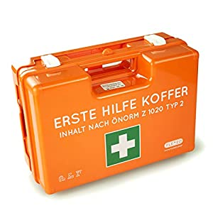 Erste Hilfe Koffer ÖNORM Z1020 Typ2