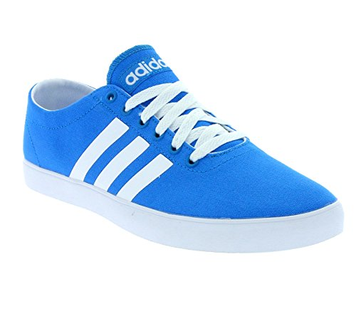 Adidas - Adidas Easy Vulc Low Sneakers Hombres Mujeres Blue Canvas New Collection - F99180 Light Blue