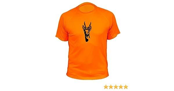 AtooDog Tee Shirt Chasse Original Cadeau pour Chasseur Motif Chevreuil