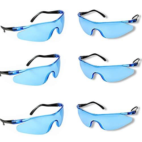 YAAVAAW 6 Pack Gafas Seguridad Transparentes Gafas
