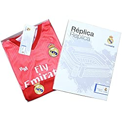 Kit - Personalizable - Tercera Equipación Replica Original Real Madrid 2018/2019 (10 años)